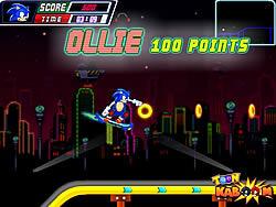 Sonic Skate Glider game