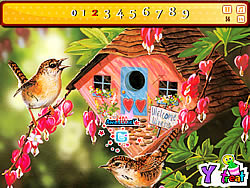 Painting Birds game