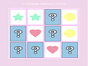 Play 6 shape memory game Game