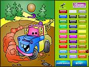 Kids Coloring Car's game