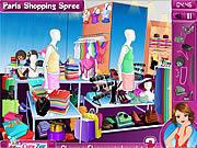 Play Paris shopping spree Game