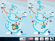 Play Frosty morning 5 differences Game