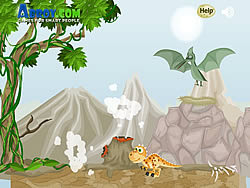 Donald The Dino game