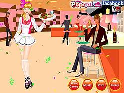 Waitress Dress Up game