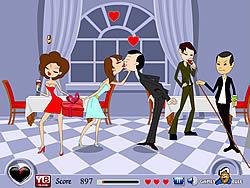 Love Affair Kiss game