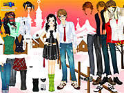 Dress Up Sweet Couple game