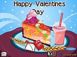 Valentines Cheesecake Decor game