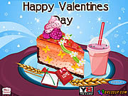 juego Valentines Cheesecake Decor