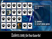 Animals Match Game game