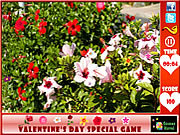 Valentine's Day  Hidden Flowers game