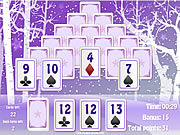 Winter Solitaire Matcher game
