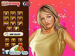 Cameron Diaz Celebrity Makeover Game game