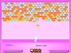 Pink Bubble Shooter game
