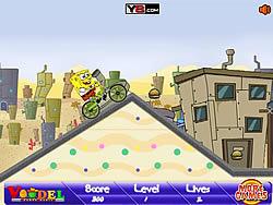 Spongebob BMX game