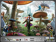 Alice in Wonderland - Hidden Objects game
