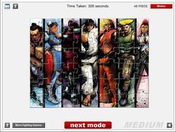 Jogar jogo grátis Street Fighter IV Jigsaw