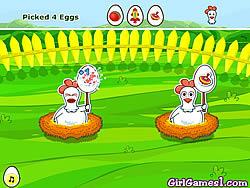 Pick My Eggs game