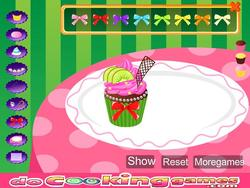 Kids Sweet Colorful Cupcake game