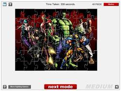 Marvel – Capcom 3 Jigsaw game