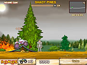 Play Monster truck vs forest Game