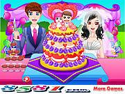 Play Exquisite wedding cake Game