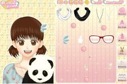 Shoujo manga avatar creator pet game