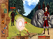 Avatar: The Last Air Bender Bending Battle game