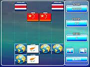 Play World flag memory-4 Game