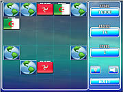 Play World flag memory-8 Game