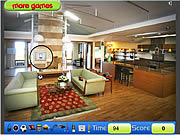 Modern House Hidden Objects game