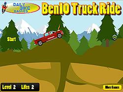 Ben 10 Truck Ride game