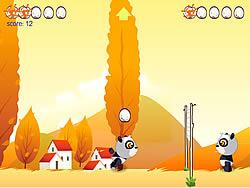 Panda & Eggs game