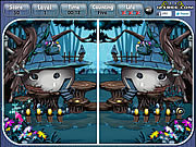 Fantasy House Spot the Difference game