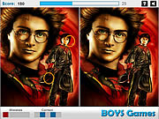 Harry Potter Difference game