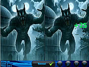 Play Werewolf 5 differences Game
