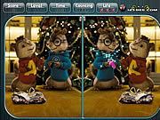 Alvin and the Chipmunks Spot the Difference game