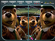 Yogi Bear Spot the Difference game
