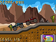 Play Monster truck race Game