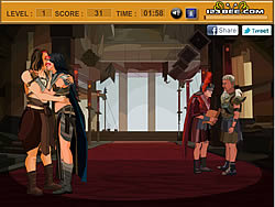 Kissing John Carter game