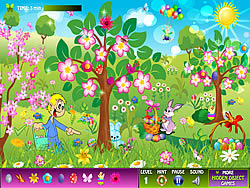 Easter Hidden Objects game
