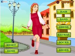 Morris Dance Dressup game