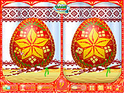 Easter Eggs a'la RusseSpot the Difference game