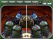 A Bugs Life - Spot the Difference game