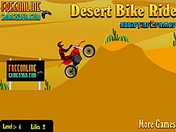 Desert Bike Ride game