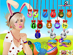 Easter Girl Makeover game