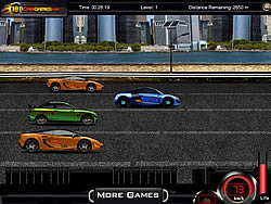 Sprint Racer game