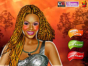 Beyonce Knowles Celebrity Make up Game game