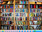Hidden Pencil Bookshelf game