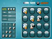 Play Mickey and donald - memory balls Game