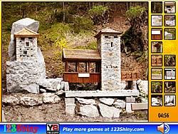 Hidden Spots Stone Building game